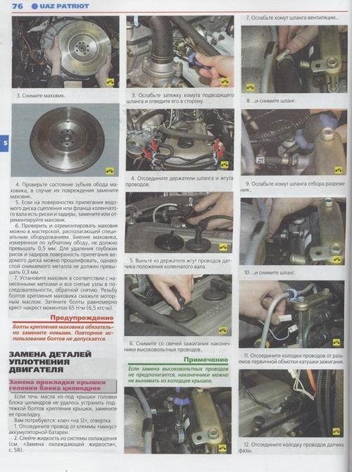по ремонту УАЗ Патриот