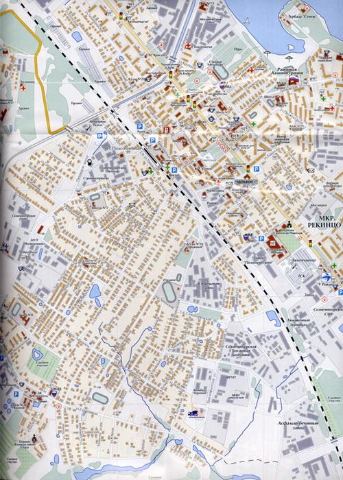карта Солнечногорск карта