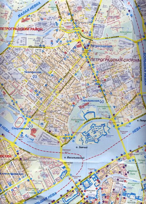 Санкт-Петербург карта