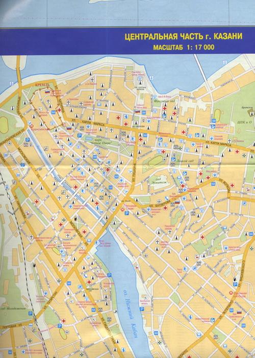Карта Казань Карта Казани
