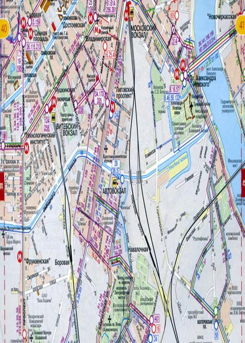 Содержание Атлас городского транспорта Санкт-Петербурга Карты центра СпБ 2 - 13 Карты города Санкт Петербурга 14 - 59...