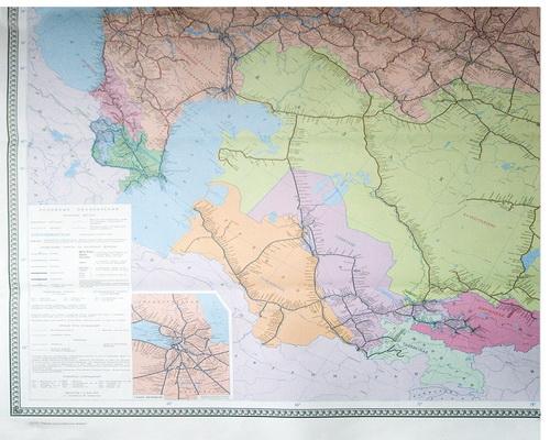 Схема железных дорог снг