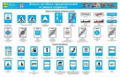 Каталог плакатов по знакам дорожного движения и дорожной разметке с изменениями от 01.01.07. 10 листов