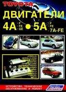 Двигатели TOYOTA 4А-F, 5А -5F, 7A-FE бензин