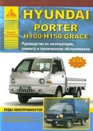 HYUNDAI H-100 / H-150 / GRACE / PORTER бензин / дизель Пособие по ремонту и эксплуатации