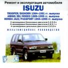 CD ISUZU TROOPER / BIGHORN 1984-1991 бензин / дизель