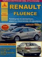 RENAULT FLUENCE с 2009 бензин / дизель Пособие по ремонту и эксплуатации