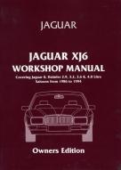JAGUAR XJ6 1986-1994 бензин
