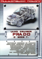 CD TOYOTA LAND CRUISER PRADO с 2002