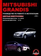 MITSUBISHI GRANDIS с 2003 бензин / дизель Пособие по ремонту и эксплуатации