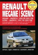 RENAULT SCENIC 1997-2003 / MEGANE 1996-2003 бензин / дизель Пособие по ремонту и эксплуатации