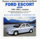 CD FORD ORION / ESCORT 1980-1990 бензин / дизель