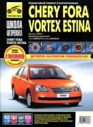 TAGAZ VORTEX ESTINA / CHERY FORA с 2005 бензин Руководство по ремонту в фотографиях