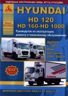 HYUNDAI HD120 / HD160 / HD1000 с 1997, с 2004 и с 2009 дизель Пособие по ремонту и эксплуатации