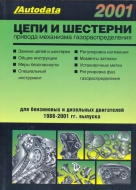 Цепи и шестерни привода механизма газораспределения.  Модели 1988 – 2001 гг. выпуска.