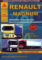 RENAULT MAGNUM 1990 - 2006 гг. дизель Руководство по ремонту и техническому обслуживанию