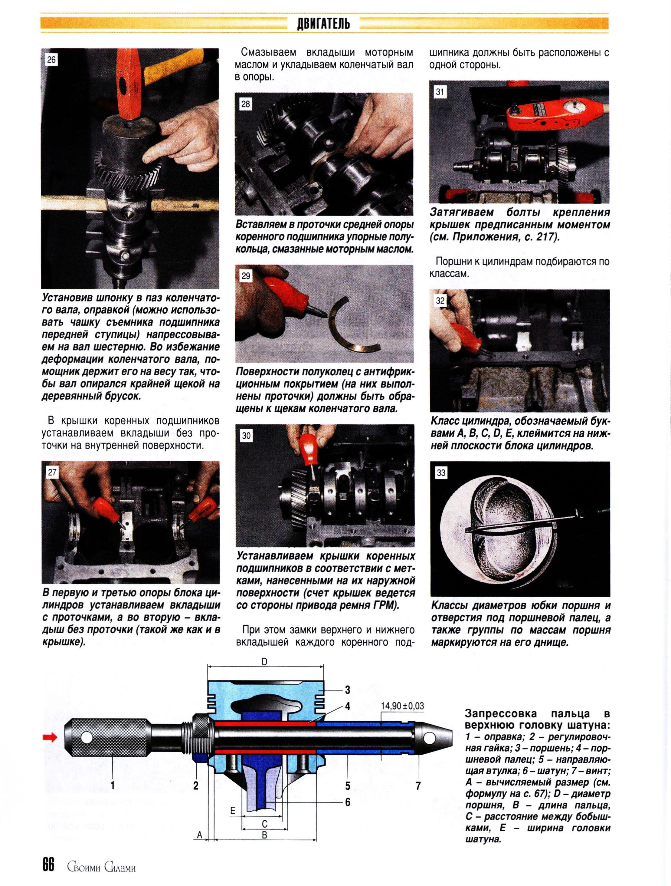 Двигатель ока: описание, характеристики и тюнинг