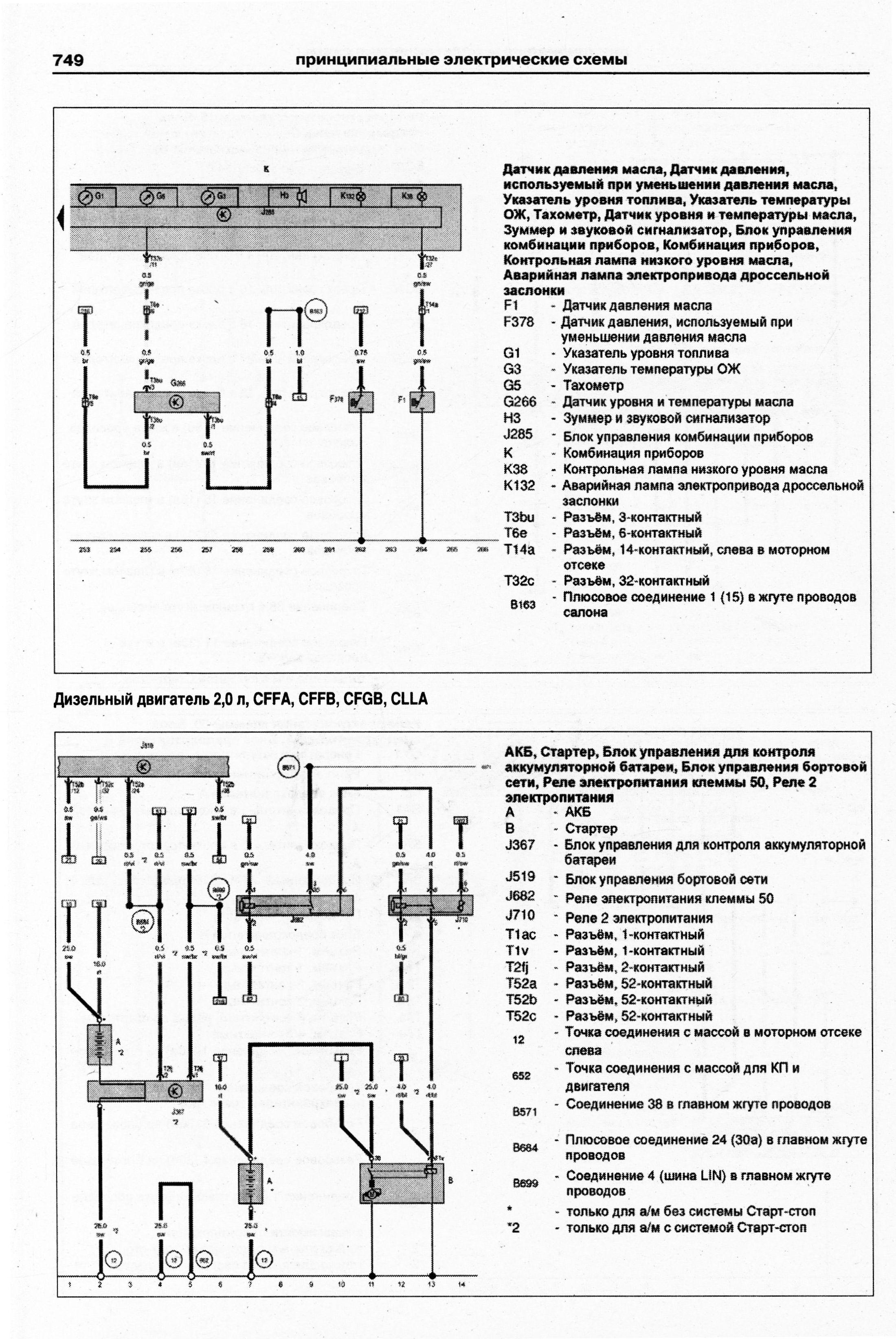 фольксваген пассат б7 электросхема