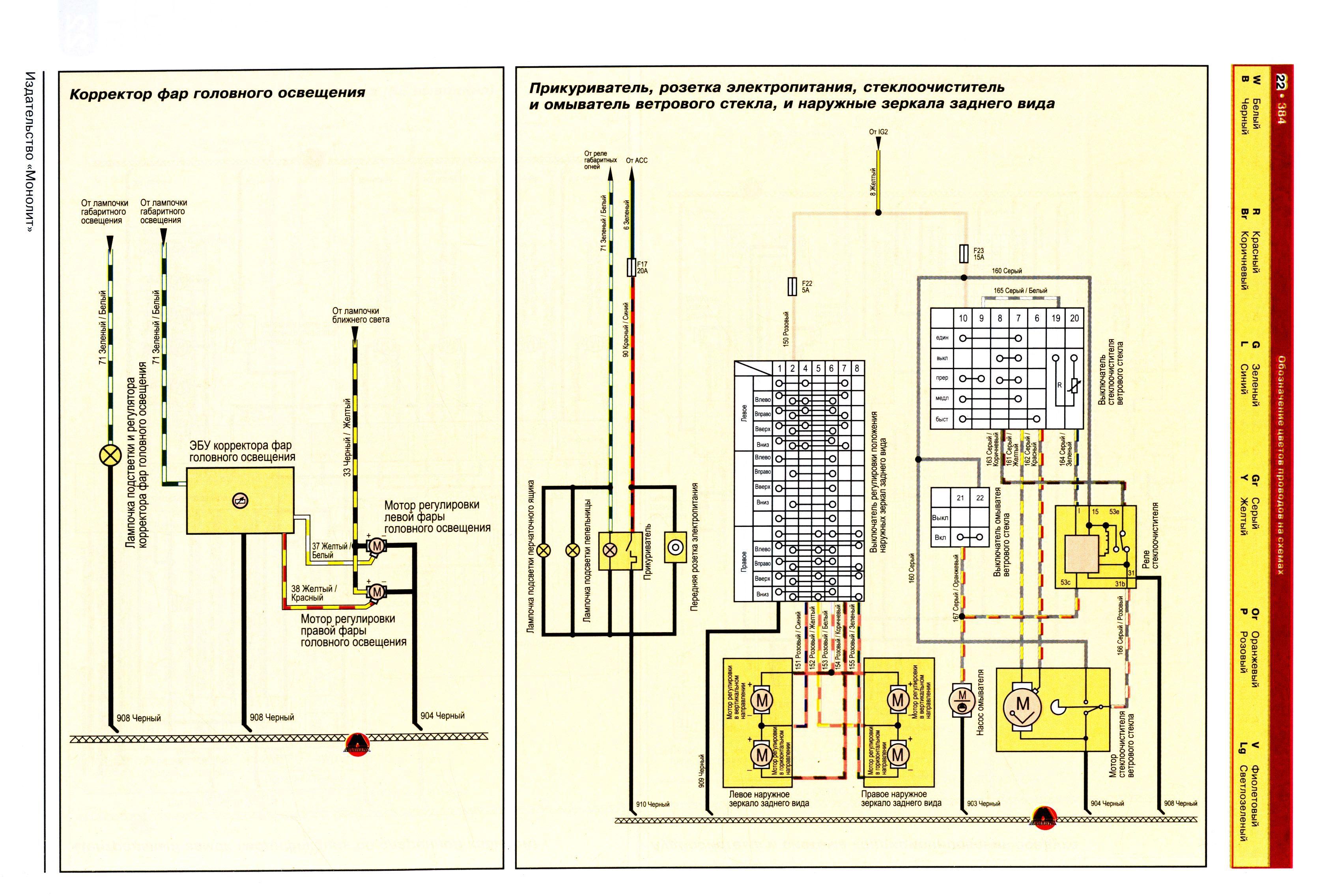 great wall схема проводки