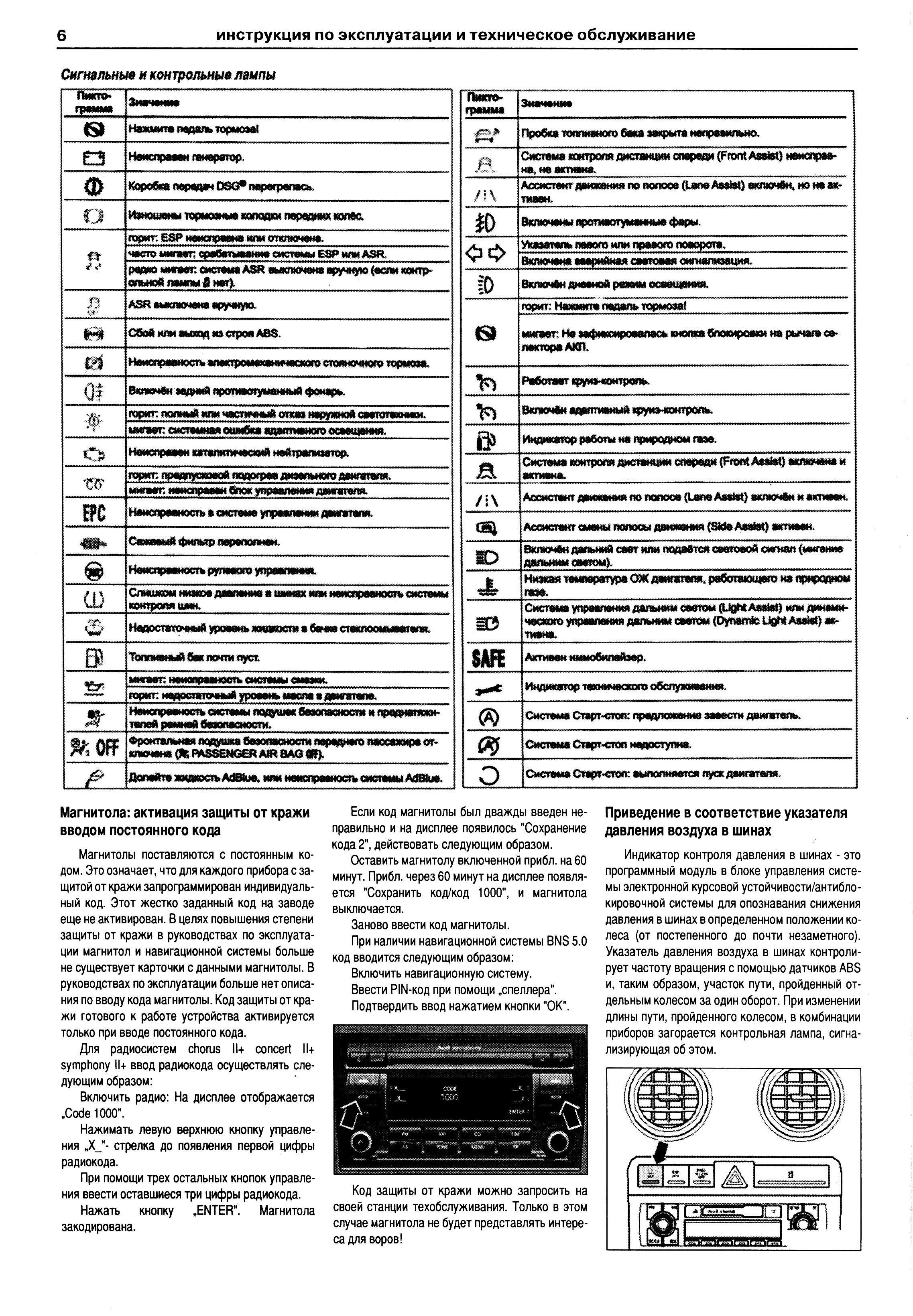 инструкция по эксплуатации ауди а 5 купе 2012 г