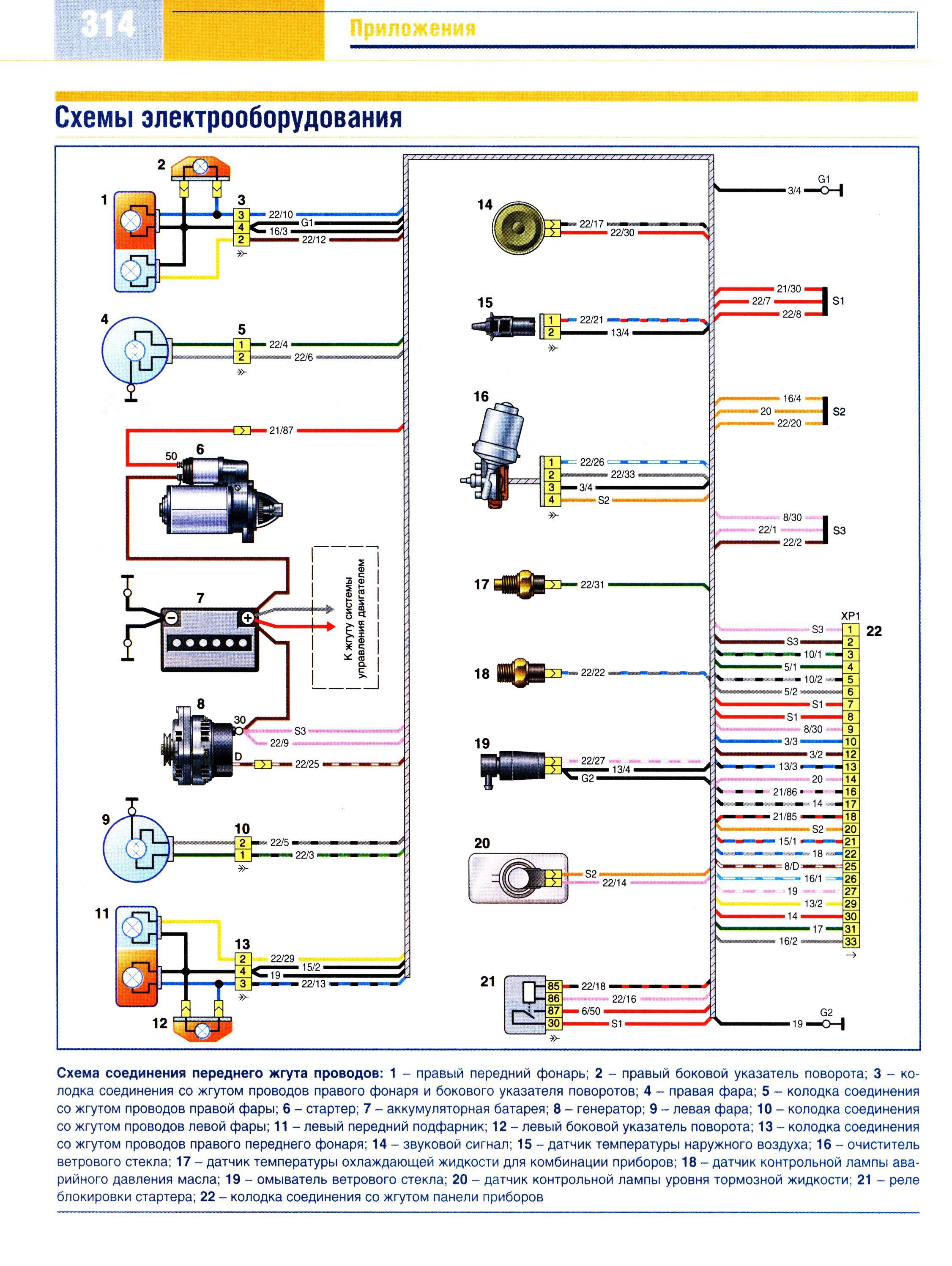 Схема главного тормозного ваз 2101