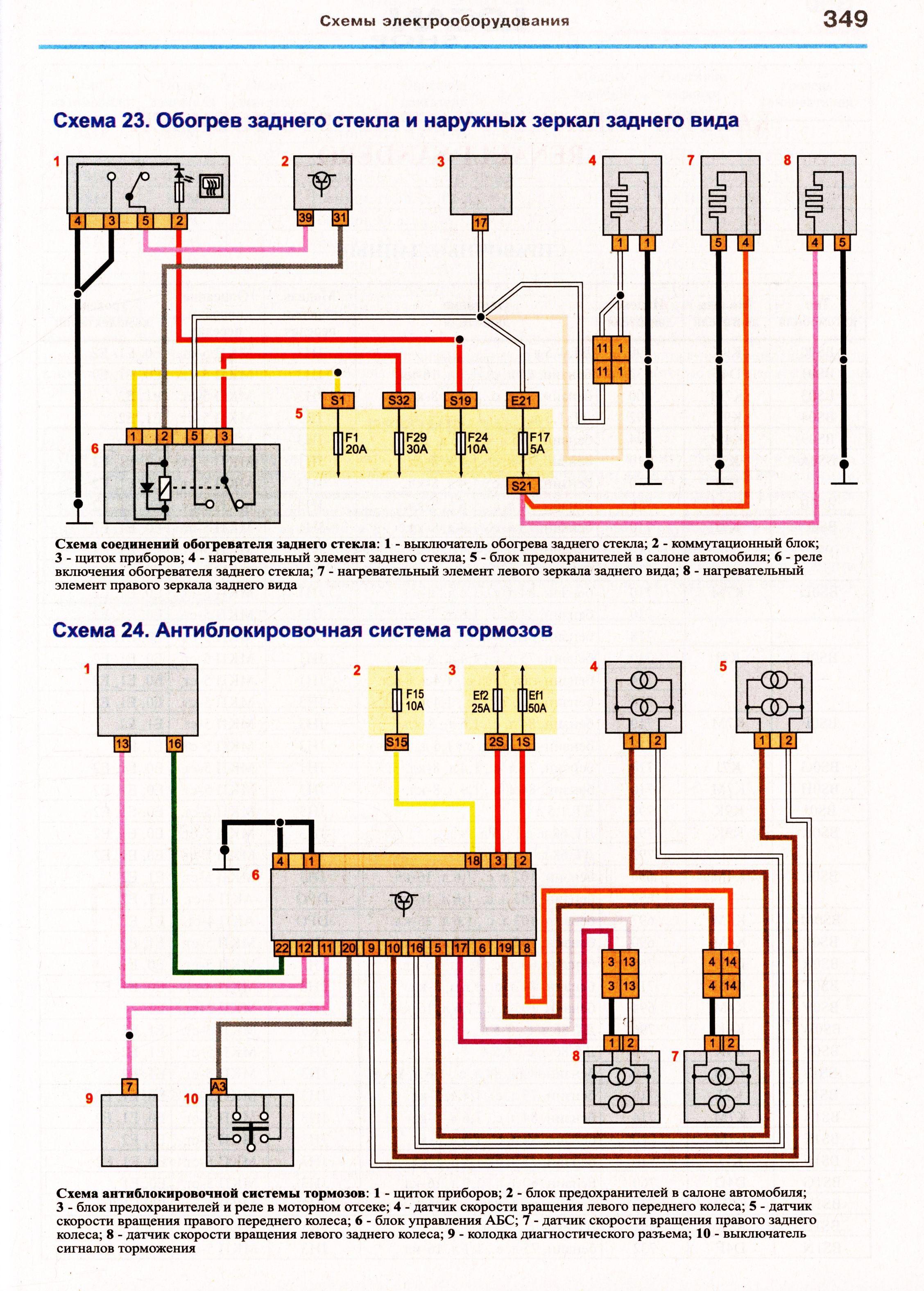 Электрическая схема рено-премиум