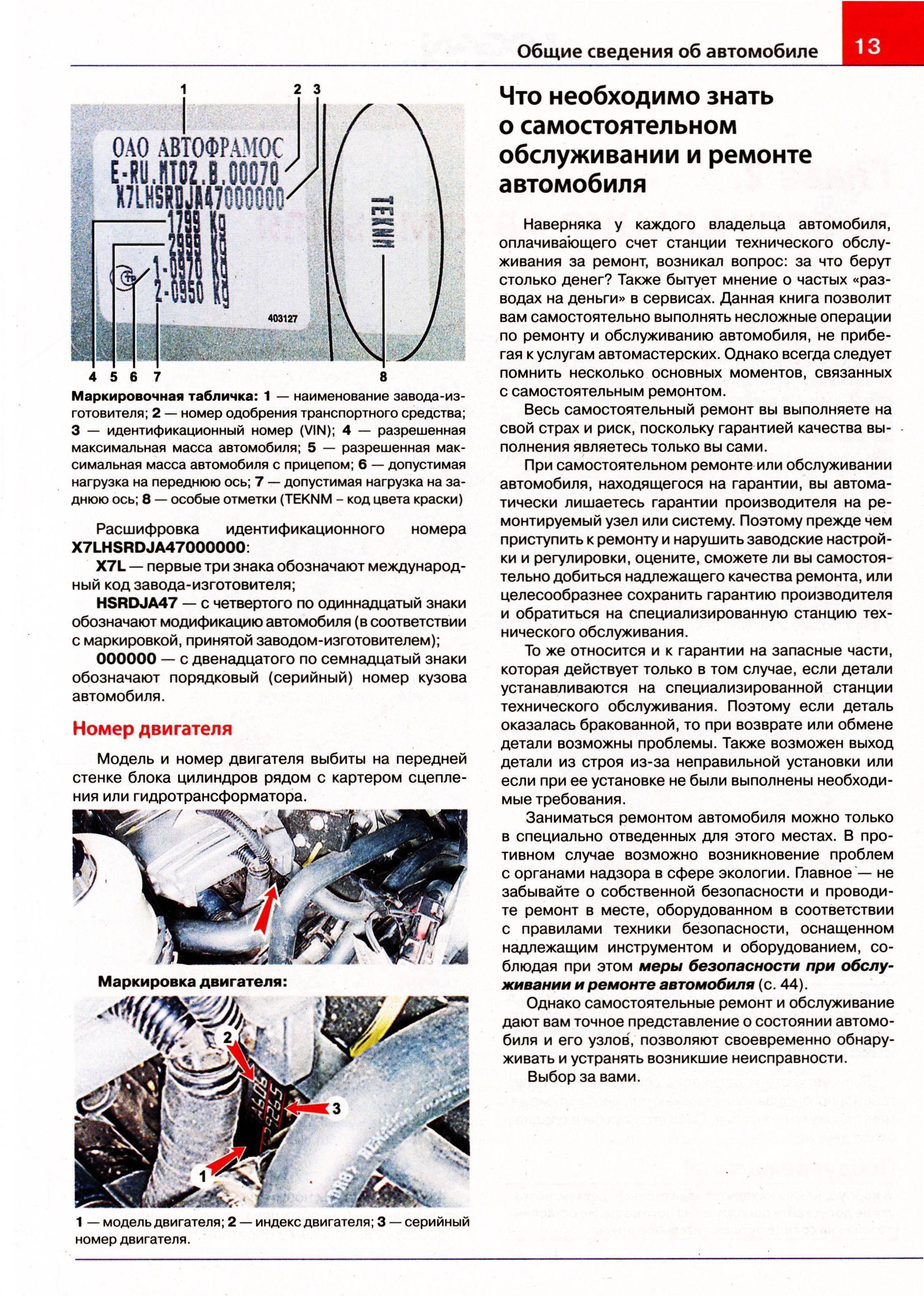 книга по ремонту и эксплуатации рено дастер 2015