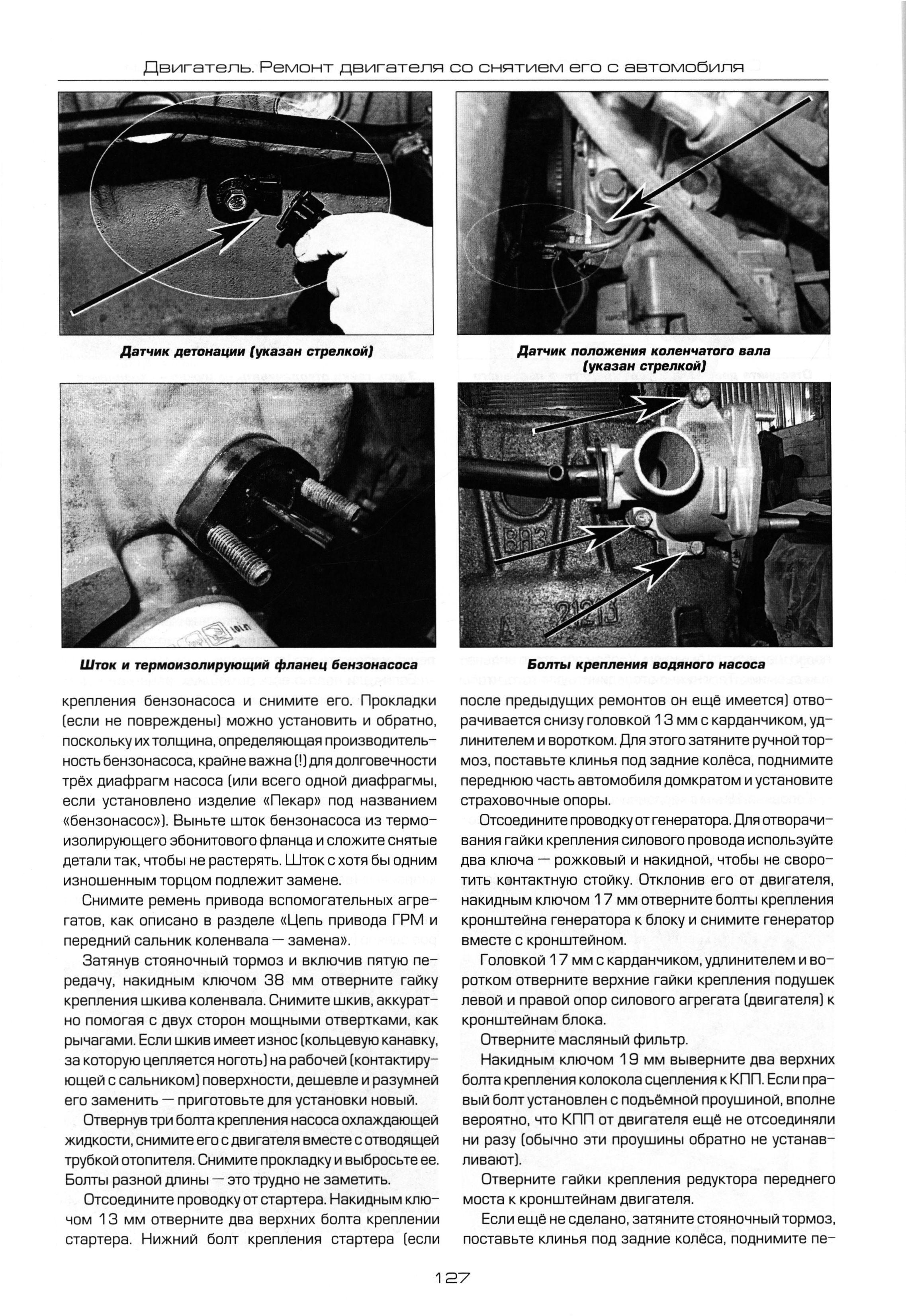 инструкция по ремонту ваз 21214 нива