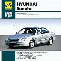 CD HYUNDAI SONATA c 2001 бензин