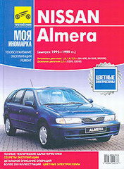 NISSAN ALMERA 1995-1999 бензин / дизель
