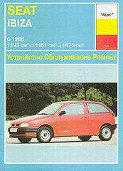 SEAT IBIZA c 1986 бензин Пособие по ремонту и эксплуатации