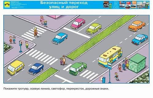 Каталог плакатов Детская Дорожная Безопасность