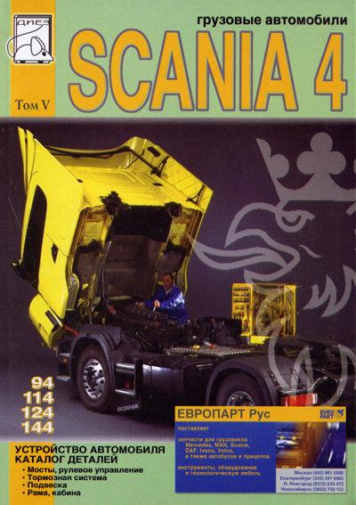 SCANIA 94, 114, 124, 144 том 5 Каталог деталей