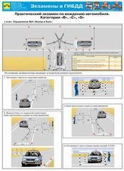 Каталог плакатов Экзамены в ГИБДД на право управления транспортными средствами категорий A B C D E