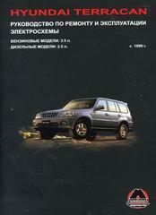 Книга HYUNDAI TERRACAN (Хендай Терракан) с 1999 бензин / дизель Пособие по ремонту и эксплуатации