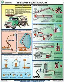 Каталог плакатов Безопасность работ с автоподъемниками