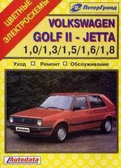 VOLKSWAGEN GOLF II / JETTA 1982-1991 бензин Пособие по ремонту и эксплуатации