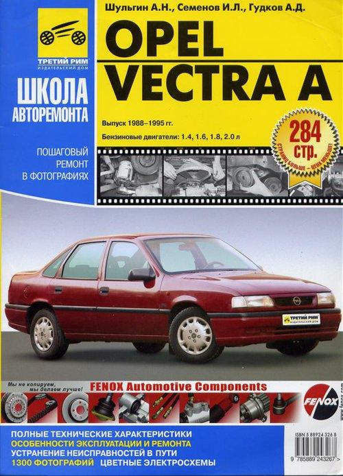 OPEL VECTRA A 1988-1995 бензин Руководство по ремонту в фотографиях