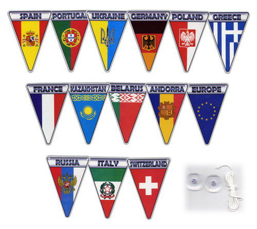 Флажки Флаги стран