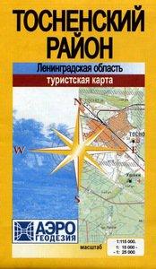Карта Тосненский район