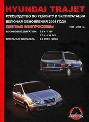 Руководство HYUNDAI TRAJET (ХЕНДАЙ ТРАДЖЕТ) 1996-2006 бензин / дизель Пособие по ремонту и эксплуатации