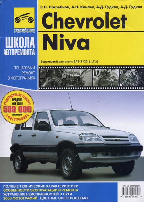 CHEVROLET NIVA Руководство по ремонту в фотографиях