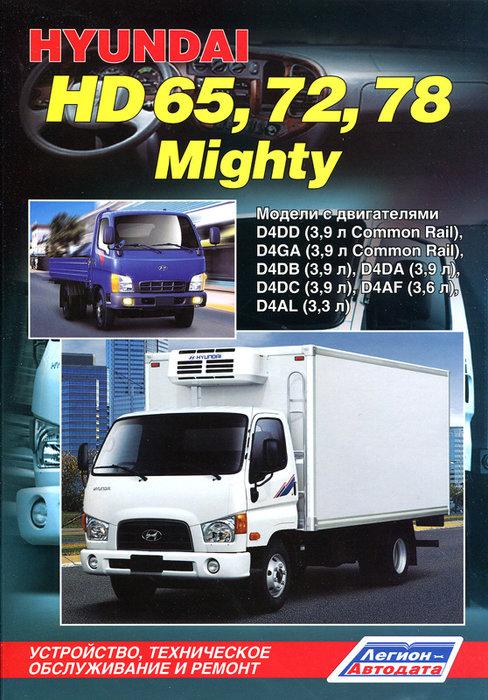 HYUNDAI HD65 / HD72 / HD78 / MIGHTY дизель Руководство по ремонту и техобслуживанию