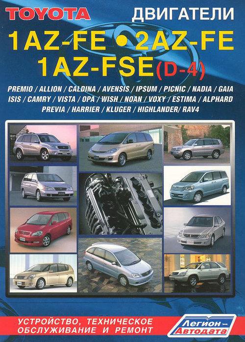 Двигатели TOYOTA 1AZ-FE, 1AZ-FSE, 2AZ-FE с 1999 бензин