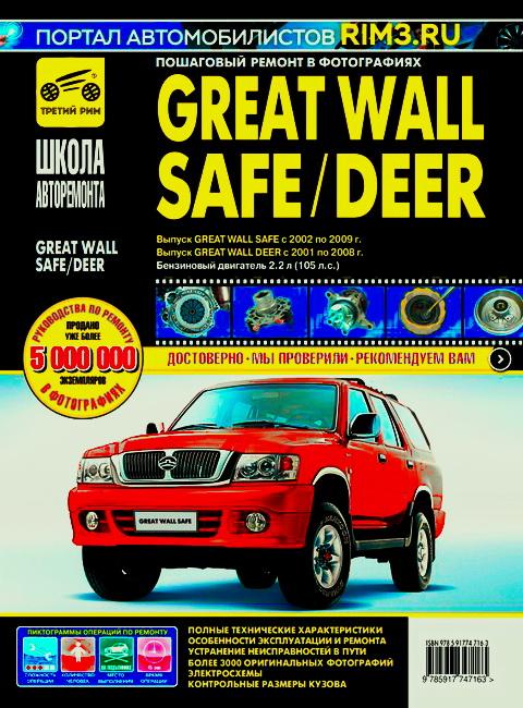 GREAT WALL DEER (Грейт Вол Дир) 2001-2008 бензин Пособие по ремонту и эксплуатации в фотографиях