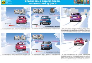Каталог плакатов Сложные дорожные условия
