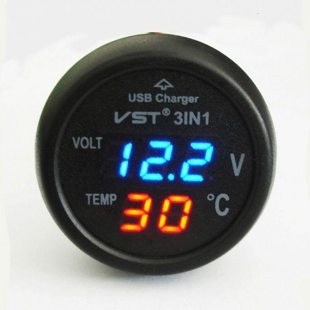 Автомобильный термометр VST-706