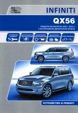 INFINITI QX56 с 2010-2013 бензин Книга по ремонту и эксплуатации