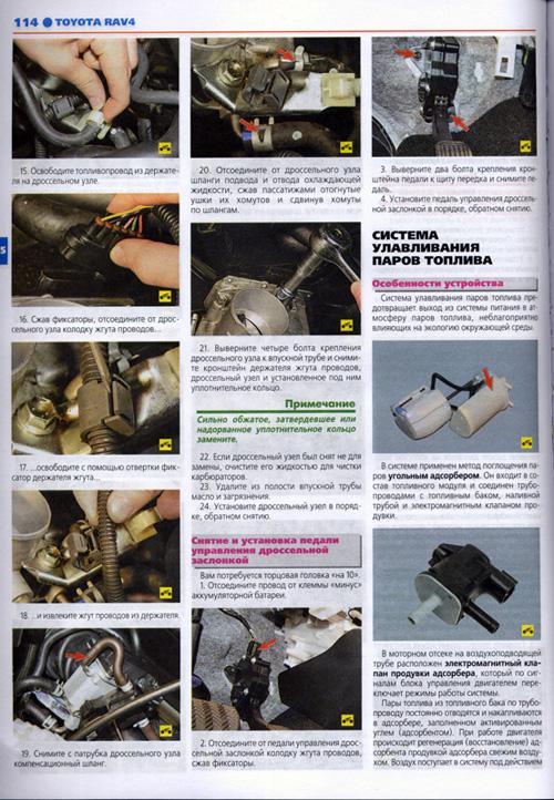 Инструкция по эксплуатации Toyota RAV4