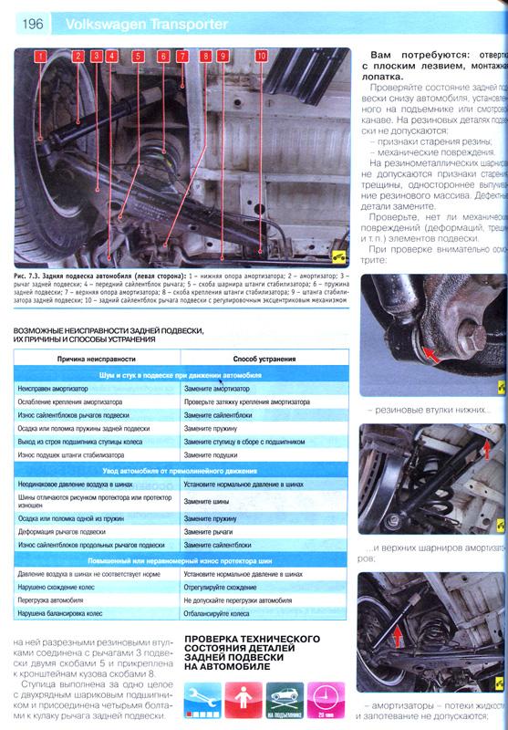 инструкция по ремонту фольксваген т4 2.5 бензин